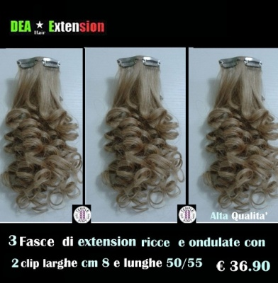 Extension Ondulate con 2 Clip