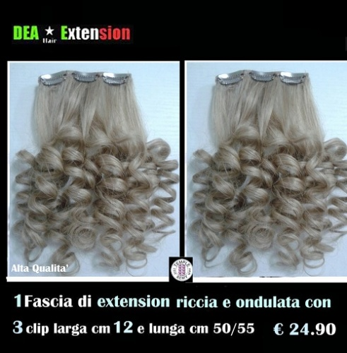 Extension Ondulate con 3 Clip