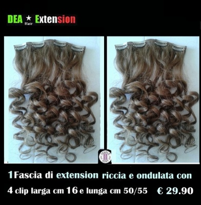 Extension Ondulate con 4 Clip