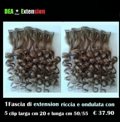 Extension Ondulate con 5 Clip